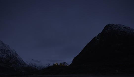 Snøhetta Tungestølen Gletscherhütte Jostedalsbreen Norwegen