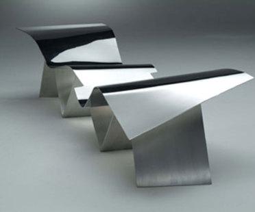 Sitzbank Tuyomyo - Emeco und Frank O' Gehry