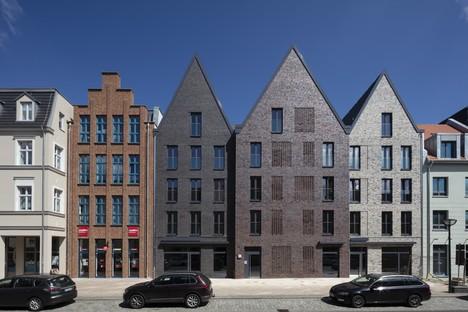 Tchoban Voss Architekten zeitgenössische Interpretationen traditioneller Backsteingebäude in Anklam
