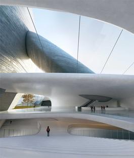 Antizipation der Zukunft MAD stellt das Projekt Shenzhen Bay Culture Park vor