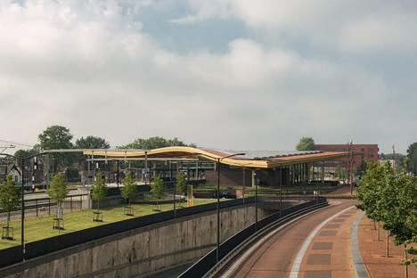 Fertigstellung des neuen Bahnhofs Assen, realisiert von Powerhouse Company und De Zwarte Hond