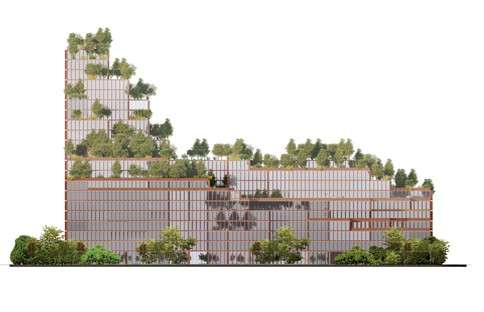 Stefano Boeri Architetti China Rehabilitation Center Shenzhen