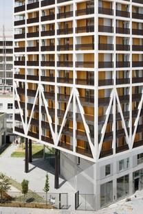 Brenac & Gonzalez & Associés und MOA Architecture 2 Wohntürme in Paris