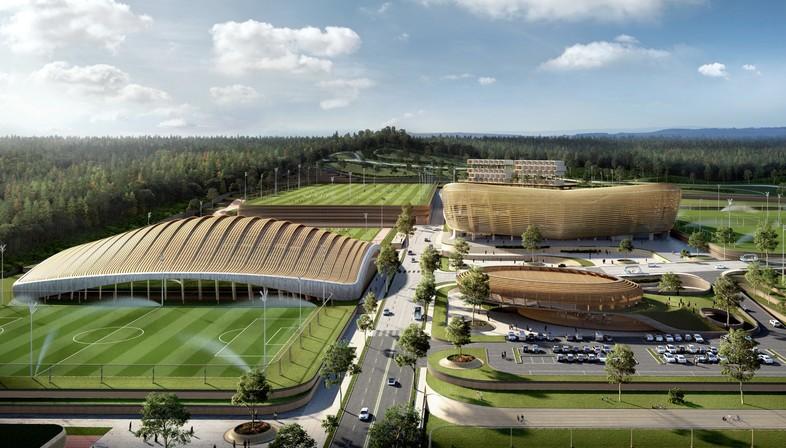 Korean National Football Centre von Seoul wird von UNStudio realisiert