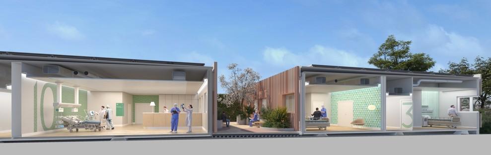 FTA Filippo Taidelli Architetto Emergency Hospital 19 ein modulares und nachhaltiges Krankenhaus