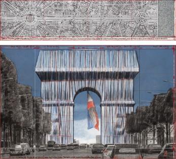 Ausstellung CHRISTO ET JEANNE-CLAUDE - PARIS! Centre Pompidou