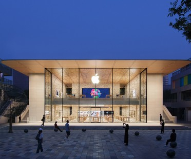 Foster + Partners gestaltet neuen Apple Store Sanlitun in Peking<br />