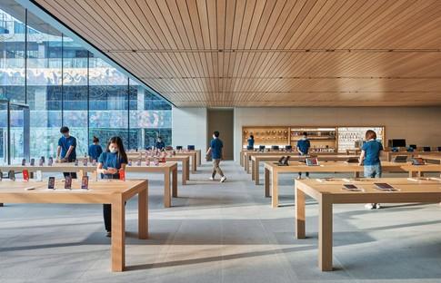 Foster + Partners gestaltet neuen Apple Store Sanlitun in Peking<br /> <br />