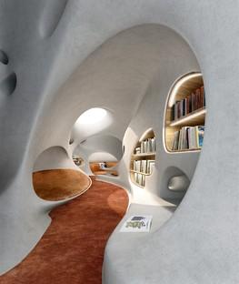 MAD Architects Wormhole Library – eine Traumlandschaft in Haikou