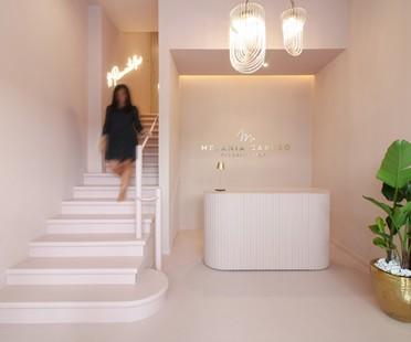 PuccioCollodoro Architetti: ein Minimal Pop-Projekt für den Flagship Store von Melania Caruso