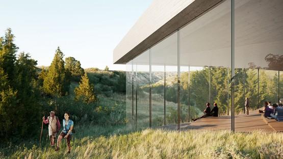 Henning Larsen Architects enthüllt Projekt für die Theodore Roosevelt Presidential Library