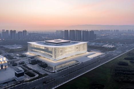 gmp stellte das Silk Road International Conference Center im chinesischen Xi'an fertig
