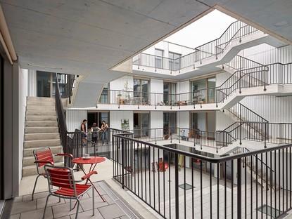 Adrian Streich Ausstellung Città Analoga Architektur Galerie Berlin