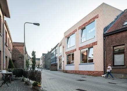 Bovenbouw Architectuur Kindergarten in Edegem Belgien