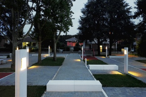 DAP studio via Monviso Square Garden in Garbagnate