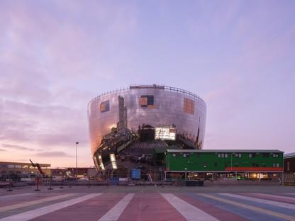MVRDV hat den Bau des Depots Boijmans Van Beuningen in Rotterdam abgeschlossen