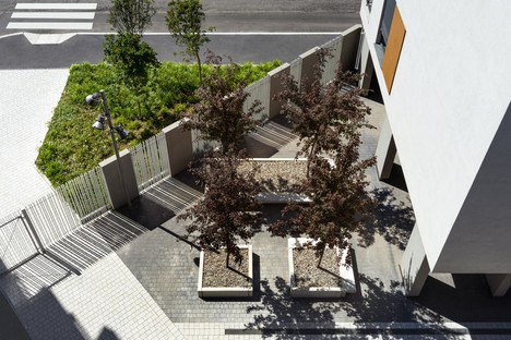 Lombardini22 QUID Quintiliano District Sozialwohnungsbau in Mailand