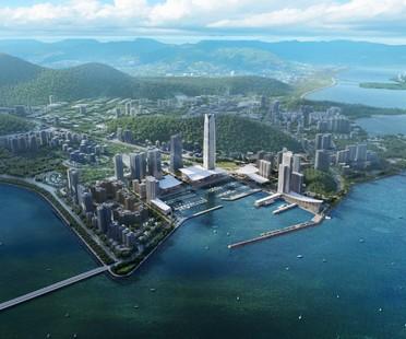 SOM entwirft Jiuzhou Bay, die neue Uferpromenade von Zhuhai in China