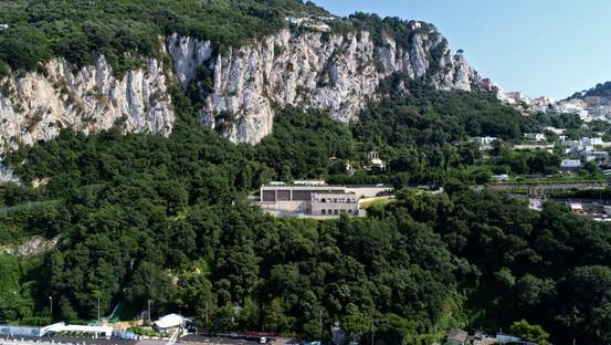 Einweihung des Elektrizitätswerks von Terna auf Capri, ein Projekt der Frigerio Design Group