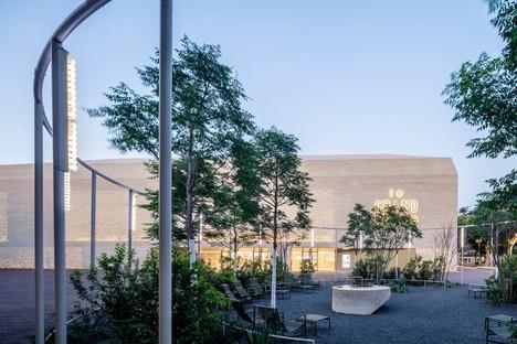Antonio Virga Architecte Le Grand Palais Cinema und Museumsraum in Cahors