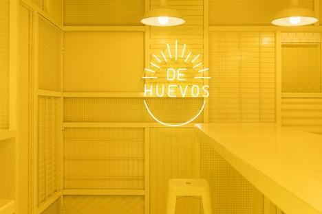 Mexico City De Huevos neues gastronomisches Konzept von Cadena Concept Design