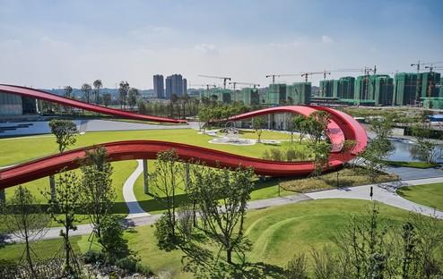Powerhouse Company Loop of Wisdom ein neues Wahrzeichen für Chengdu