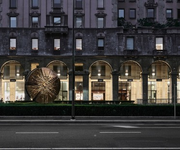 P+F Parisotto + Formenton Architetti re-design Galleria Bolchini Mailand