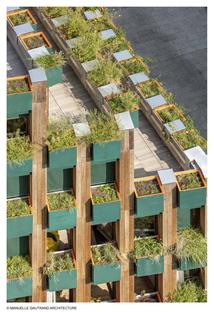 Manuelle Gautrand Edison Lite das Co-housing, das Paris neu erfindet