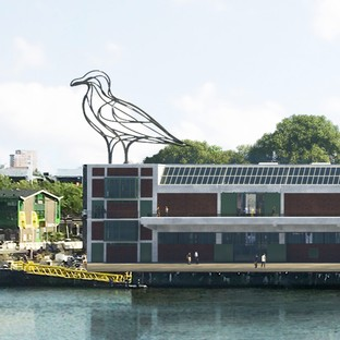 MAD Architects FENIX Museum of Migration Bauarbeiten haben begonnen in Rotterdam