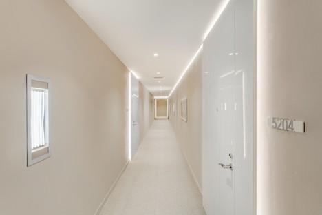 Iosa Ghini Associati Innenarchitektur des Brickell Flatiron von Miami