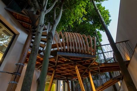 Superlimão das neue Hauptquartier von Populos in São Paulo komplett mit Baumhaus