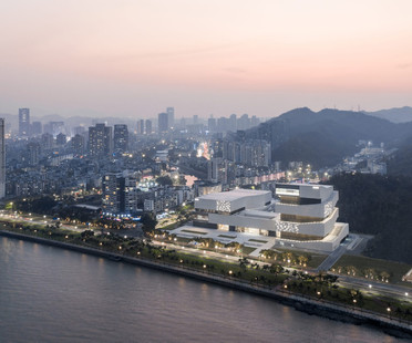gmp Architekten von Gerkan, Marg und Partner vollenden das Zhuhai Museum in China