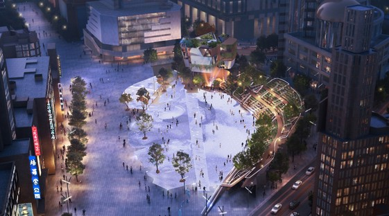 Miralles Tagliabue EMBT gewinnt den Wettbewerb für die Neugestaltung des Century Square in Shanghai