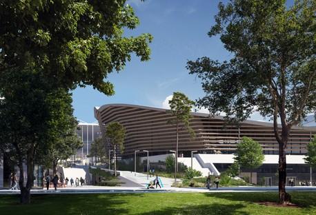 VenhoevenCS + Ateliers 2/3/4/ Aquatic Centre für Olympiade Paris 2024