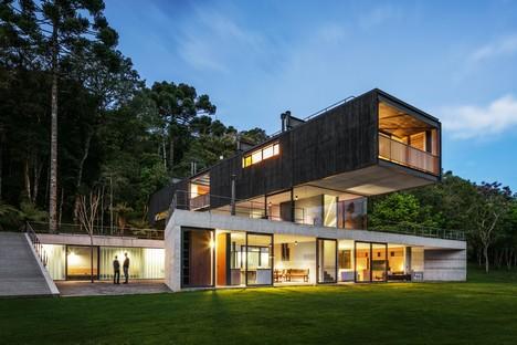 UNA arquitetos Mantiqueira House Wohnprojekt in São Bento do Sapucaí