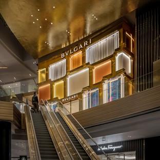 MVRDV vollendet die Fassade des Bulgari-Flagshipstore in Bangkok