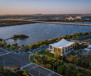 Powerhouse Company Paper Roof neues Bürgerzentrum in Tianjin