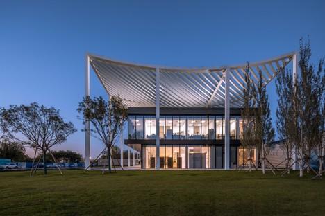 Powerhouse Company Paper Roof neues Bürgerzentrum in Tianjin