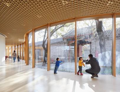 MAD Architects YueCheng Courtyard Kindergarten Peking