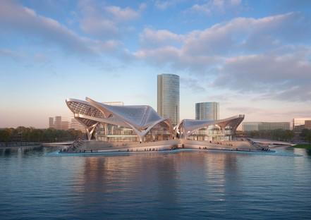 Zaha Hadid Architects Zhuhai Jinwan Civic Art Centre China
