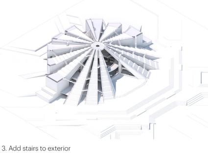 Start des Projekts von MVRDV, neues Leben für die Pyramide von Tirana
