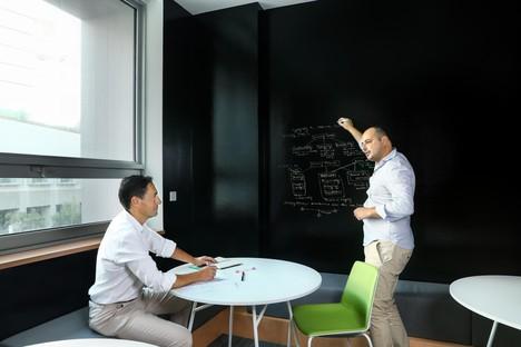 nEmoGroup Inneneinrichtung für die Büros der Cybersicherheitsabteilung von Nyu Abu Dhabi