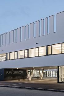 .Megatabs .BORG eine nachhaltige, energieeffiziente Schule für Oberndorf