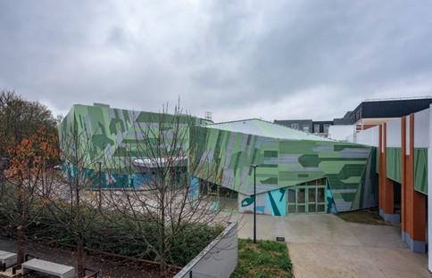 Büro Miralles Tagliabue EMBT Le Pavillon in Romainville