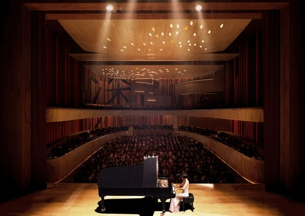 Miralles Tagliabue EMBT gewinnt den Wettbewerb für das Musikkonservatorium von Shenzhen