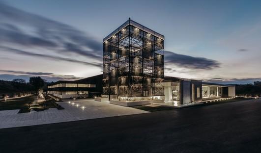Progetto REb saniert eine ehemalige Nudelfabrik für das Headquarter Talenti in Amelia
