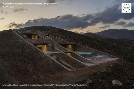 Aufstrebende Architekten, die Gewinner des Europe 40under40® Award