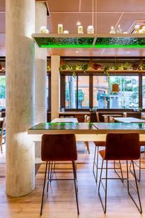 Superlimão gestaltet ein neues gemütliches Lokal in São Paulo, Basilicata Trattoria