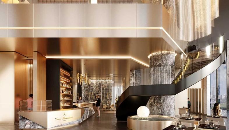 Studio Marco Piva Tonino Lamborghini Towers Chengdu China