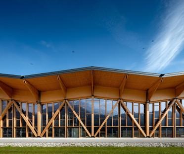 Palaluxottica von Studio Botter und Studio Bressan gewinnt den Architekturpreis der Stadt Oderzo
